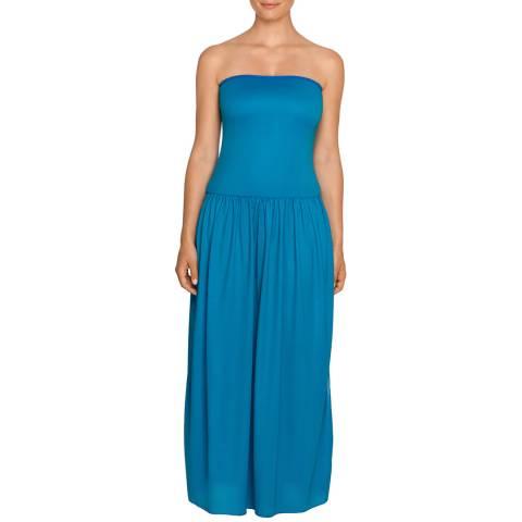 Primadonna Blue Latika Reversible Strapless Dress