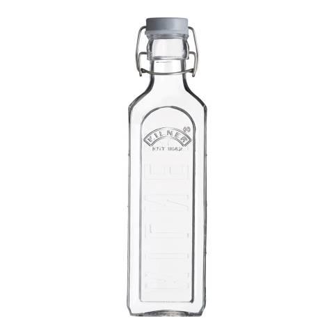 Kilner Set of 6 New Clip Top Bottles, 600ml