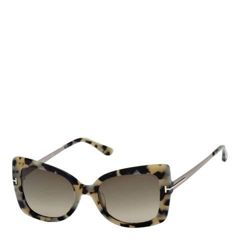 Tom Ford Women's Tortoise Gianna Sunglasses