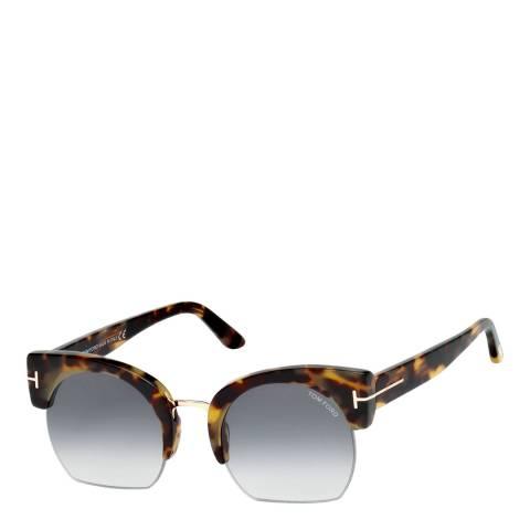 Tom Ford Women's Brown Savana Sunglasses 55mm