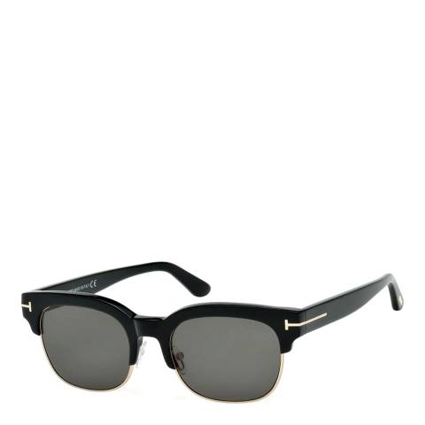 Tom Ford Unisex Black Tom Ford Sunglasses 53mm