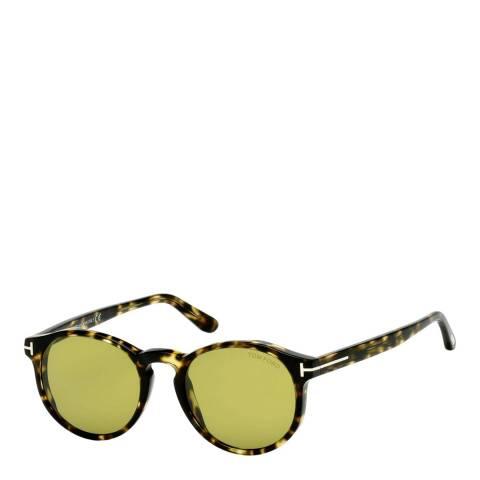 Tom Ford Unisex Brown Tom Ford Sunglasses 51mm