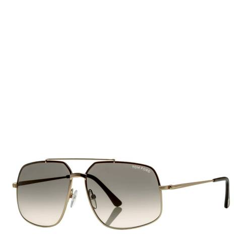 Tom Ford Unisex Brown Tom Ford Sunglasses 60mm