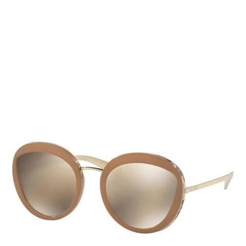 Bvlgari Women's Beige Bvlgari Sunglasses 52mm