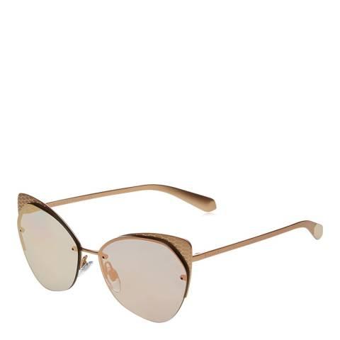 Bvlgari Unisex Pink/Gold Bvlgari Sunglasses 58mm