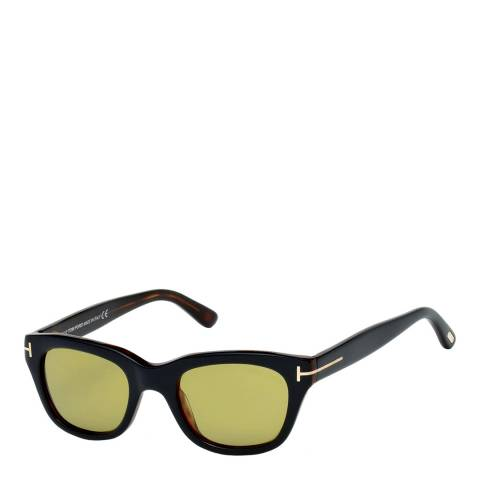 Tom Ford Men's Black/Green Sunglasses 54mm