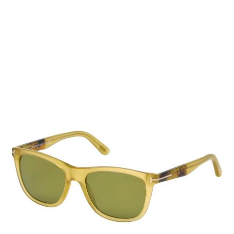 Tom Ford Men's Yellow/Green Sunglasses 54mm
