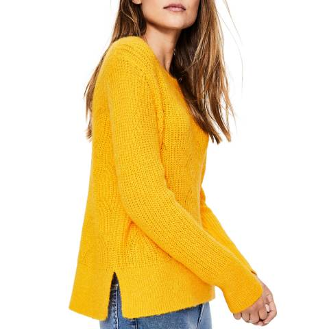 Boden Yellow Hadley Jumper