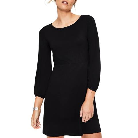 Boden Black Lucie Jersey Tunic
