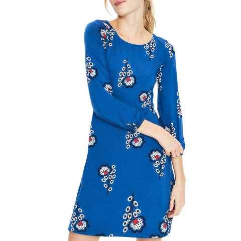 Boden Blue Lucie Jersey Tunic