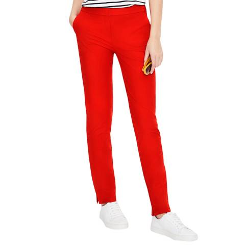 Boden Red Richmond Trousers