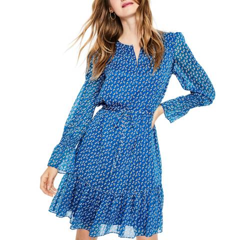 Boden Blue Libby Dress