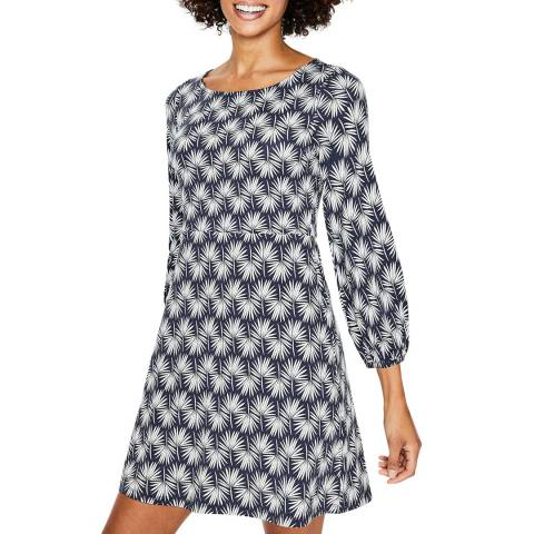 Boden Navy/White Lucie Jersey Tunic