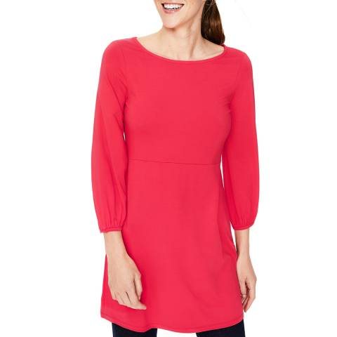 Boden Red Lucie Jersey Tunic