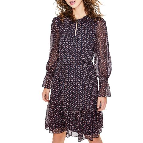 Boden Navy Libby Dress