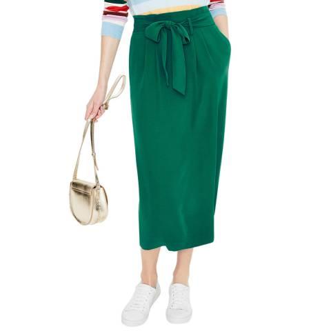 Boden Green Melina Paperbag Skirt