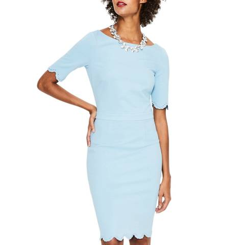 Boden Blue Emma Ponte Dress
