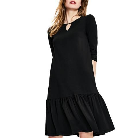 Boden Black Selena Jersey Dress
