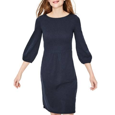Boden Navy Odelia Jersey Dress