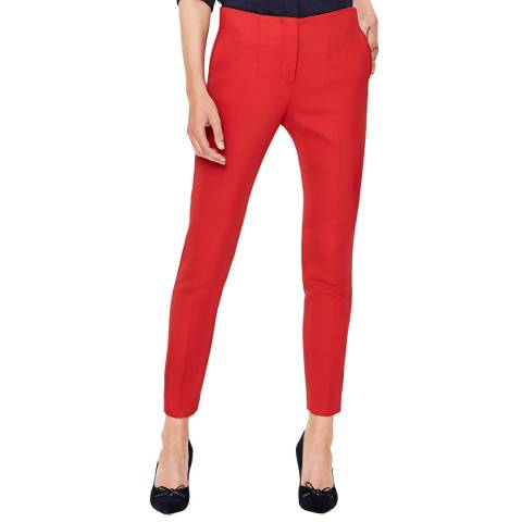 Boden Red Winsford 7/8 Trousers