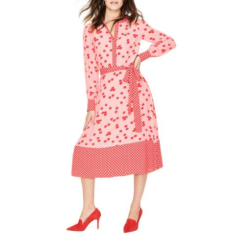 Boden Pink Eva Dress