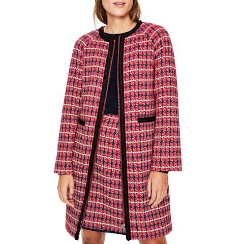 Boden Multi Eadie Textured Coat