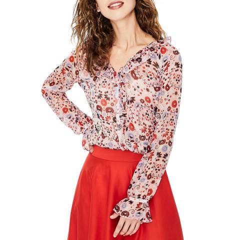 Boden Multi Stephanie Silk Blouse