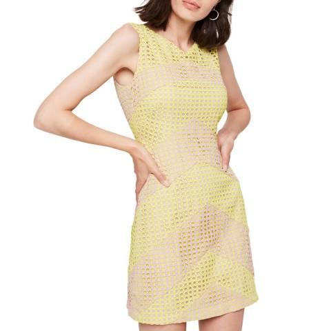 Damsel In A Dress Yellow/Nude Thekla Stripe Dress
