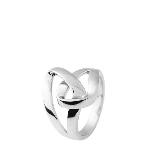 Wish List Silver Loop Ring