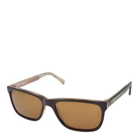 Barbour Unisex Brown Barbour Sunglasses 56mm