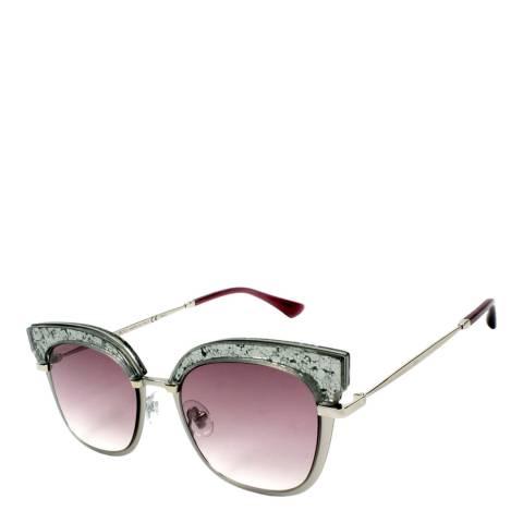 Jimmy Choo Unisex Burgundy Jimmy Choo Sunglasses