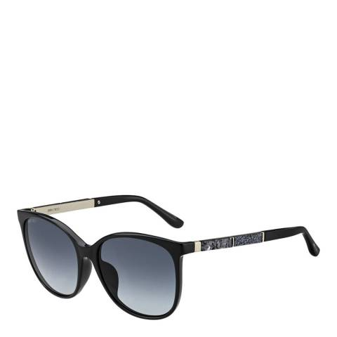 Jimmy Choo Women's Black/Grey Jimmy Choo Sunglasses