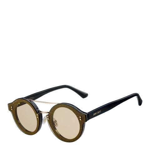 Jimmy Choo Unisex Gold/Grey Jimmy Choo Sunglasses