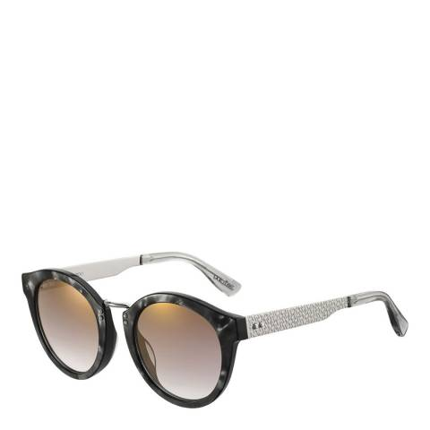 Jimmy Choo Unisex Black/Brown Jimmy Choo Sunglasses