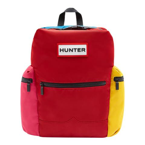 Hunter Red Colourblock Original Backpack