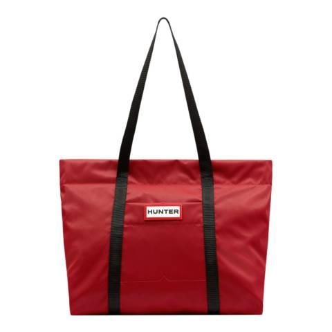 Hunter Red Original Nylon Tote Bag