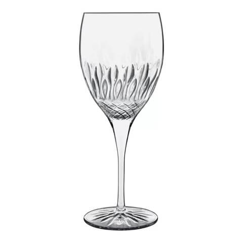 Luigi Bormioli Set of 4 Diamante Chianti Wine Glasses 520ml