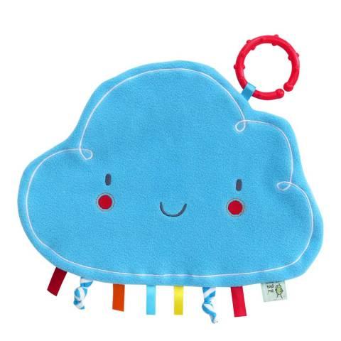 Little Bird Told Me Blue Fluffy Cloud Comforter