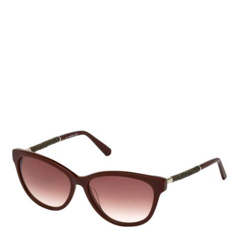 SWAROVSKI Women's Pink Swarovski Sunglasses 57mm