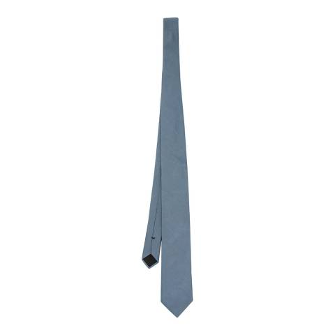 BOSS Blue Silk Tie