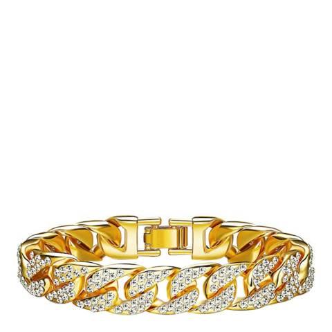 Stephen Oliver 18K Gold Plated Link CZ Bracelet