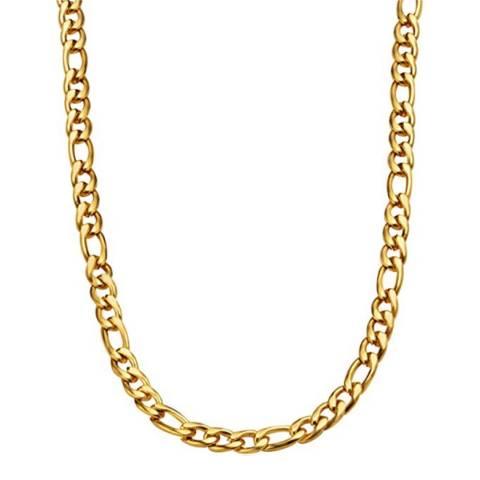 Stephen Oliver 18K Gold Chain Figaro Link Necklace