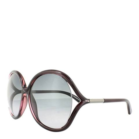Tom Ford Women's Dark Plum Tom Ford Sunglasses