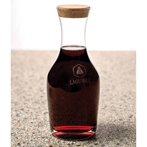 Laguiole Glass Carafe with Cork