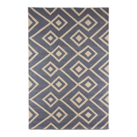 Rug Republic Blue Sea Ecco Rug 178x117cm