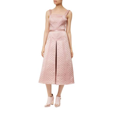 Temperley London Pink Dragon Silk Dress