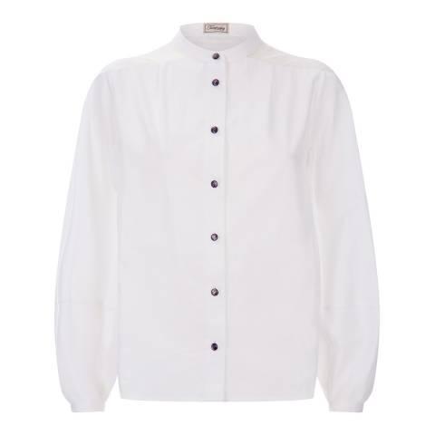 Temperley London White Enigma Silk Shirt