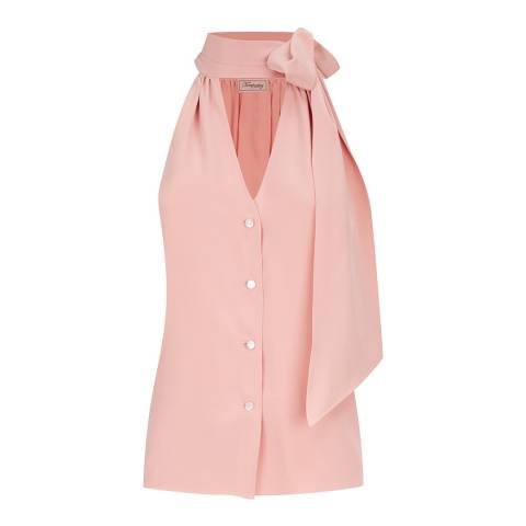 Temperley London Pink Silk Plage Blouse