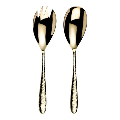 Monsoon Pair of Champagne Mirage Salad Servers