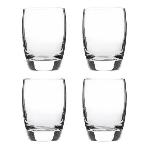 Luigi Bormioli Set of 4 Michelangelo Masterpiece OF Tumblers, 265ml